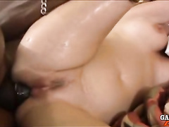 Nasty mature whore goes black for hardcore fuck