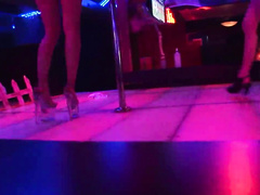 Horny hotties shaking their booties in hot contest