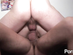 Horny French mom probed with big cock at casting