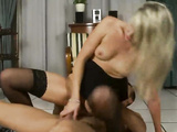 Awesome hot babe Cherry Jul riding big hard cock