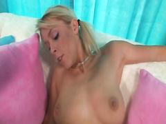 Charming girl Britany Angel first fucks black cock