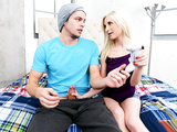 Cory Chase Porn - Piper Perri was playing a video game and her brothers friend