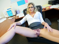 Spy Fam Step-Son Sexually Harassed By Step-Mom  Cory Chase At Work