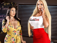 Caught Talking Dirty with Angela White and Nicolette Shea