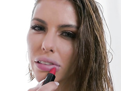 Sexy lips of hot mom Adriana Chechik are ready for a real blowjob