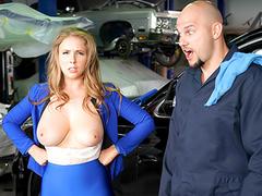 Rich Girl Gets Greasy -  Lena Paul Porno In the porn scene