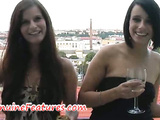 Dana and Kamilla - horny lesbian brunettes from Prague