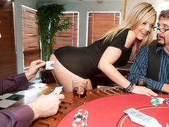 Manuel Ferrara fuck Alexis Texas in the poker game
