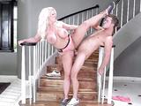 Large boobed porn star Alura Jenson having deep pussy pounding
