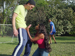 Sucked By The Soccer Milf with Diamond Jackson and Markus Dupree