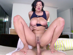 Cassidy Banks felt every inch of his long saber as she rode it