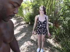 Petite Neighbor Fucked By Huge Cock