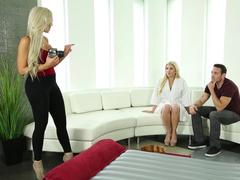 Sex with Nina Elle and Cristi Ann Promo porno