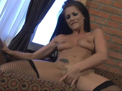 Randi Wright fingering and playing with herself