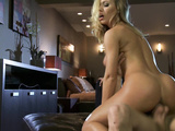 Hot Julia and John try each other in hardcore fuck