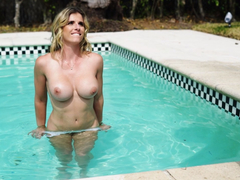 By the Pool Anal with Stepma Cory Chase
