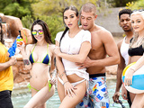 Pool Shy Featuring Desiree Dulce and Xander Corvus - Brazzers HD