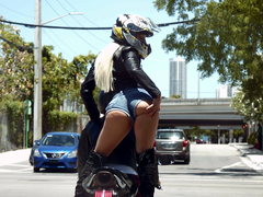 Grand Theft Moto Featuring Abella Danger - Reality Kings HD