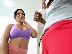 Rose Monroe Fucks Yoga Teacher - Bangbros HD