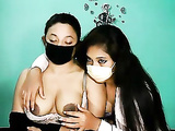 Sweet Indian Lesbian College Girls on Webcam