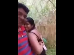 Indian couple open air romance on date mms scandal