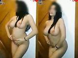 Arab Babe Nude Dance Shaking Boobs
