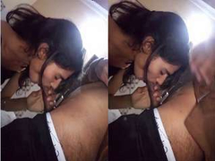 Sexy look Indian Girl Blowjob Part 1