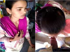 Today Exclusive- Desi Shy Village Girl Sucking Shop Owner Dick