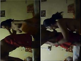 Exclusive-  Horny Desi Couple Romance and Blowjob On Webcam Show