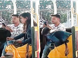 Today Exclusive- Super Hot look Desi Girl Blowjob on public place