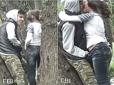 Hot Look NRI Girl Kissing and Pussy Fingering in park