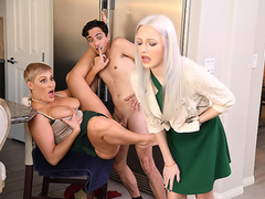 Nobody is around so vicious Ryan Keely can have XXX fun with stepson