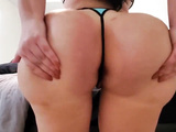 Fabulous thick booty of an Indian hot milf XXX babe Lana in action