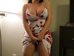 Thick and stacked thick MILF XXX wife of my colleague riding my dick