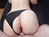 A young student with a big ass loves to fuck. Would you fuck her?