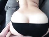 Girl with a big ass fucks after a shower