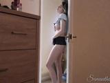 Naughty Stepdaughter 1 - Watching Stepdad jerk off! - Samantha Flair