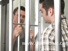Nasty gay dudes enjoy hardcore ass fuck in prison