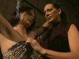 Nasty Mistress Mandy Bright explores her slave